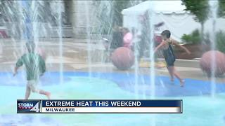 Milwaukee Health Department reminds people to stay safe in weekend heat - Video