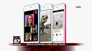 Apple announces its first new iPod in four years