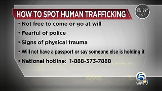 How to spot human trafficking