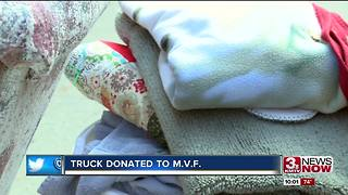 Truck donated to Moving Veterans Forward - Video
