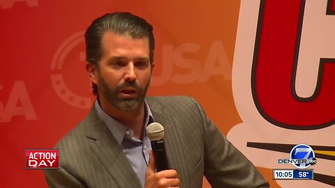 Donald Trump, Jr. event draws protesters, huge crowds at CSU