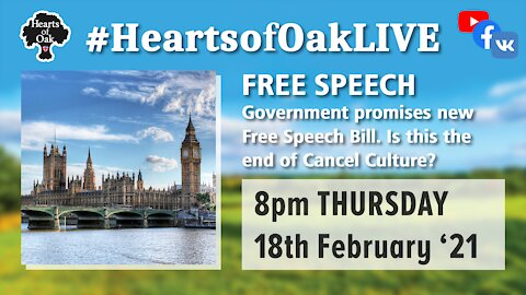 Free Speech: Government propose new Free Speech Bill. Is this the end of Cancel Culture ?18.2.21
