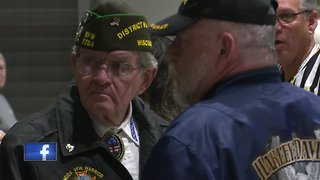 Honor Flight takes off from local airport - Video