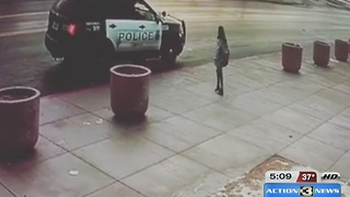 OPD Officer Gives Kid a Winter Hat - Video