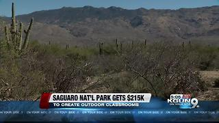 Saguaro National Park to get $215K for infrastructure work - Video