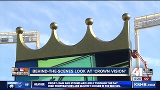 Crown Vision plays key role in fans' experience at Kauffman Stadium