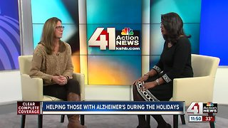 Helping those with Alzheimer's disease during holiday season