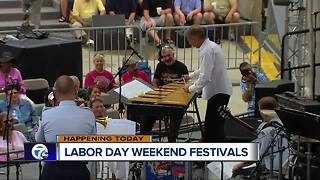 Labor Day weekend ushers in multiple events in metro Detroit - Video