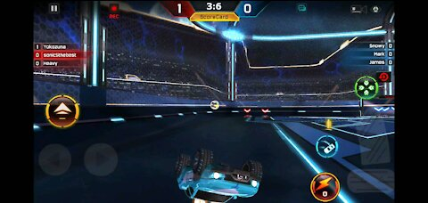 Geting the final goal(turbo league)