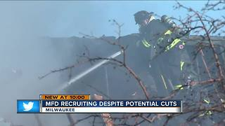 MFD recruits applicants for firefighter for first time in a decade - Video
