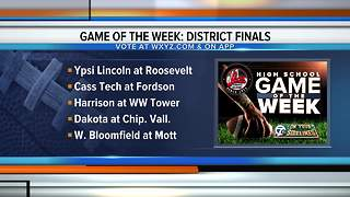 WXYZ announces options for our Game of the Week - Video