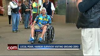 Pearl Harbor survivor to visit Ground Zero