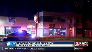 One injured in South Omaha shooting - Video