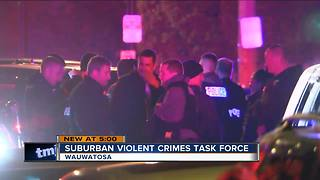 Law enforcement agencies unveils suburban violent crime task force - Video