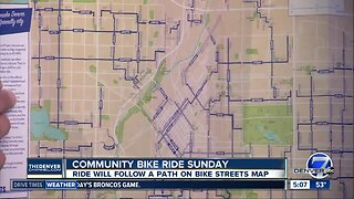 Community bike ride Sunday