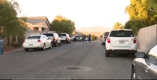 Las Vegas police investigate accidental shooting involving children