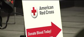 Red Cross blood drive in Las Vegas