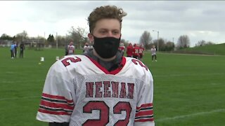 Two best friends led Neenah to victory over Bay Port