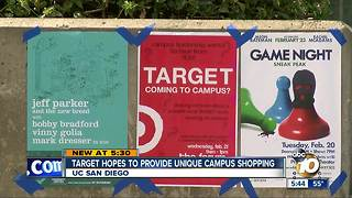 Target could be coming to UC San Diego campus