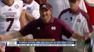 University of Florida hires Dan Mullen as next football coach - Video