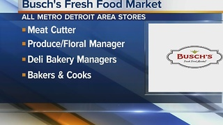 Workers Wanted: Busch's Fresh Food Market - Video