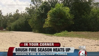 Brush fire season in full swing throughout SWFL - Video