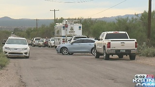 Deputies investigate homicide southwest of town - Video