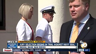 Jury selection begins in trial of accused Navy SEAL