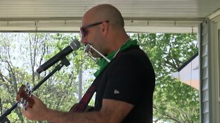 Porch concert to help friend with stage three cancer