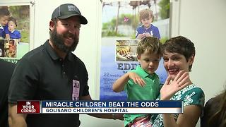 Miracle children beat the odds - Video