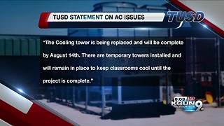 Multiple TUSD schools without AC for first day of school - Video