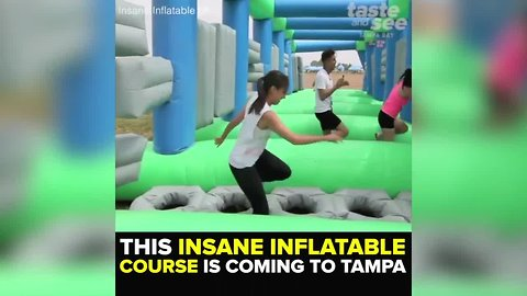 5K inflatable obstacle course coming to Tampa on March 30 | Taste and See Tampa Bay