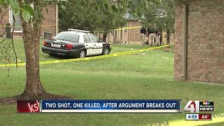 1 dead in Independence apartment shooting - Video