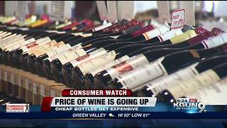 Cheaper wines may become more expensive