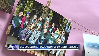 Boise State Engineering Department recognized for diversity efforts