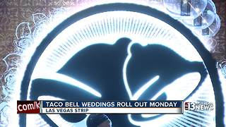 Taco Bell weddings now available in Las Vegas - Video