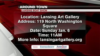 Around Town Kids 1/4/19: Lansing Boat Show