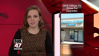 SOS offices to close for upgrades