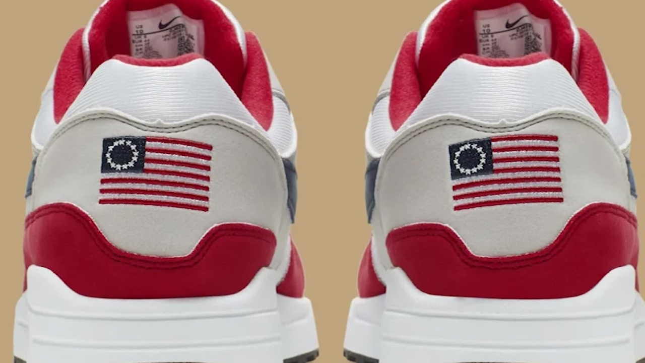 Nike pulls 'Betsy Ross flag' sneakers after Colin Kaepernick