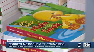 Non-profit connects young kids with books