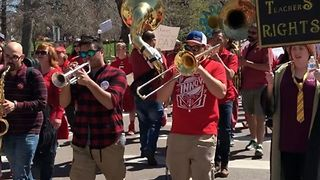 Colorado Teachers Rally for Second Day to Support Education Funding Increase - Video