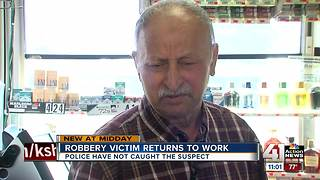 Raytown cashier robbed at gunpoint speaks out - Video