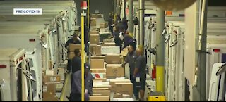 FedEx hires 120 people ahead of new facility opening