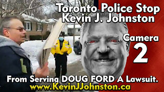 Kevin J Johnston Serves Lawsuit To Ontario Premier Doug Ford Camera 2
