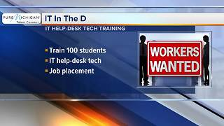 Workers Wanted: IT In The D training program