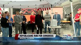 Sergio Arellano kicks off congressional campaign - Video