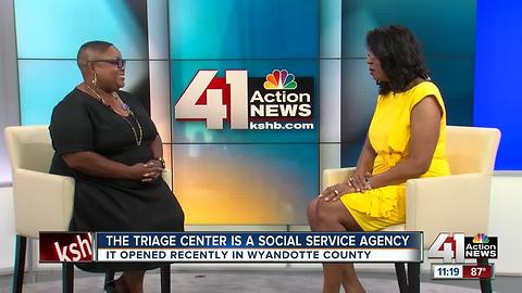 The Triage Center opened recently in Wyandotte County
