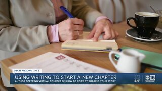 Using writing to start a new chapter