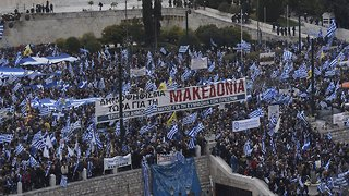 Greece's Parliament Approves Macedonia Name Change