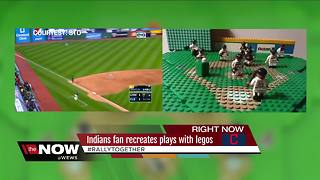 Tribe fan recreates Indians' biggest plays using tiny figures